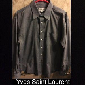 Yves Saint Laurent YSL button down shirt